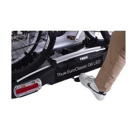 Thule Euro Classic G6 Cykelhållare för baklucka/dragkrok för 2 Cyklar grå/svart